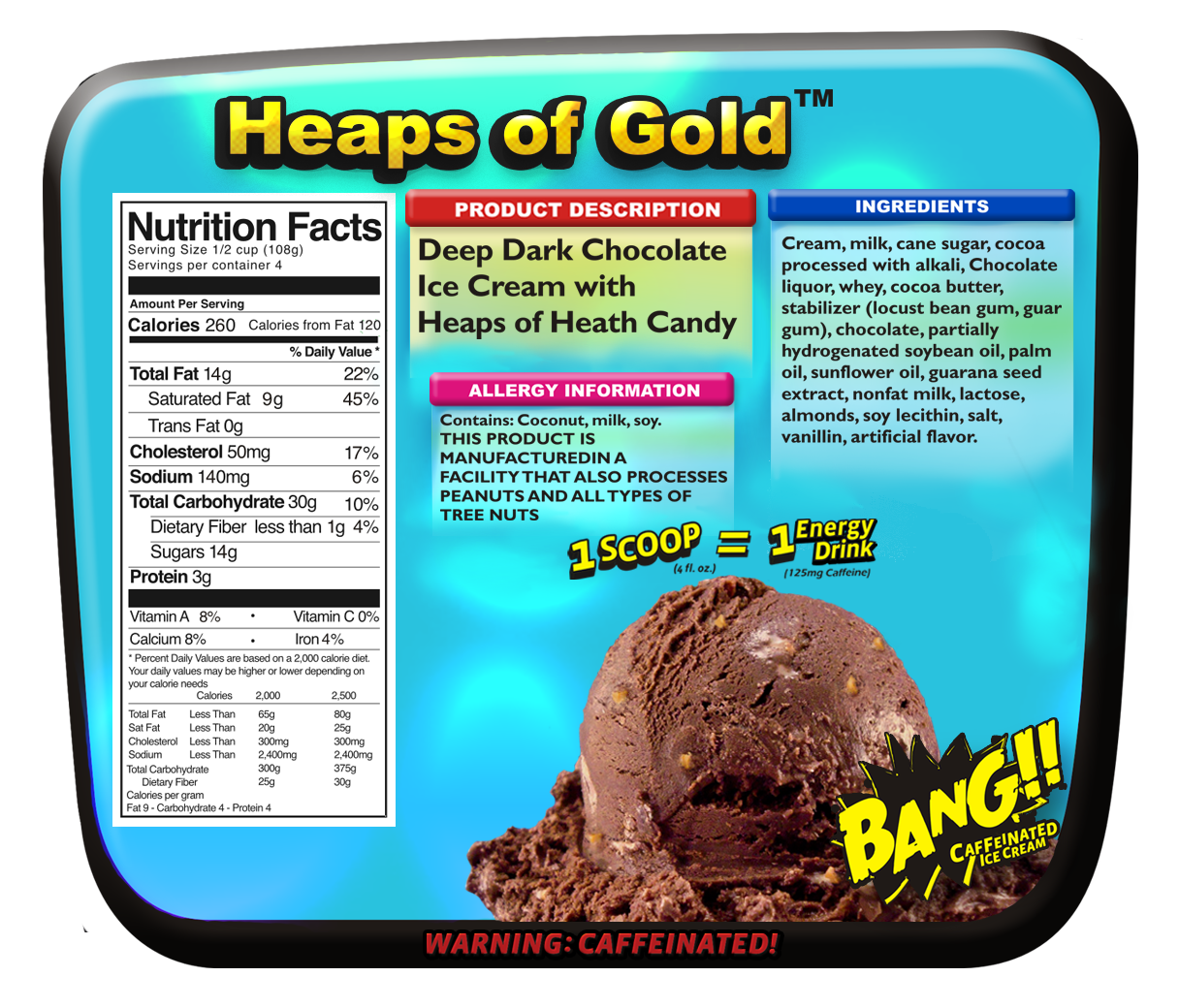 Heaps of Gold Nutritionals