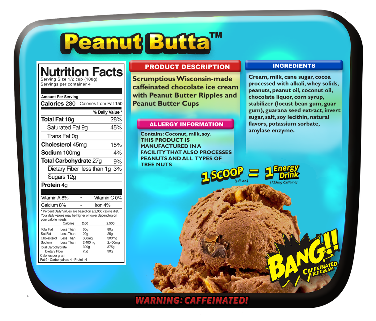 Peanut Butta Nutritionals